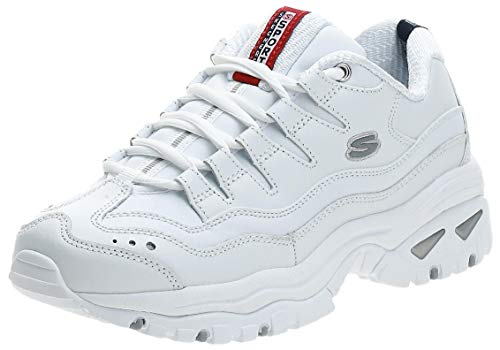 Skechers SPORT - ENERGY, Women's Low Top Trainers,White (White (Wml)),7 UK (40 EU)