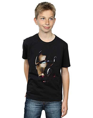 Marvel Niños Avengers Endgame Avenge The Fallen Iron Man Camiseta Negro 12-13 Years