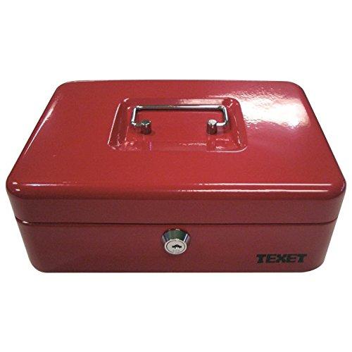 Wedo 77511 caja de caudales 6 compartimentos, Rojo, 77531