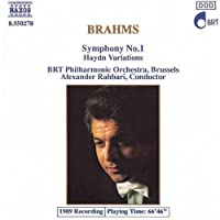 Brahms: Symphony 1; Variations on a Theme By Haydn (1994-02-15)
