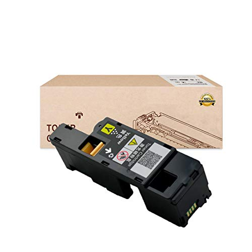 Compatible Toner Cartridges Replacement for DELL 1250C 331-0777 331-0778331-0779 331-0780 Toner Cartridges for DELL 1250C 1350CNW 1355CN 1355CNW Toner Cartridges,Yellow