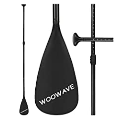 ☞【DURABLE MATERIAL】The high-performance WOOWAVE aluminum SUP paddle is constructed with the strong aluminum shaft, tough nylon composite blade, and a super comfortable ergonomically designed mechanism. This strong combination can endure years of regu...
