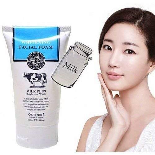 Beauty Buffet Scentio Milk Plus Whitening Q10 Facial Foam Cleanser 100ml