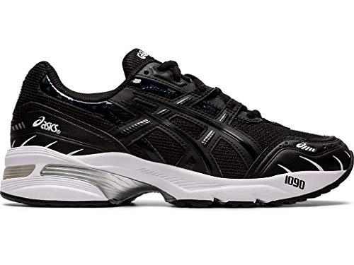 ASICS Zapatillas de correr GEL-1090 para mujer, negro (Negro/Negro), 42.5 EU