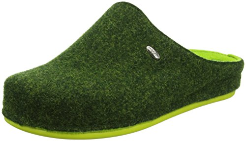 GRÜNLAND Damen CI2254 Pantoffeln, Grün Verde, 41 EU