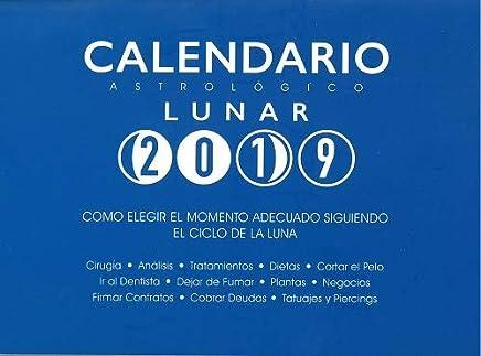 Calendario Lunar 2019 Espana.Amazon Es Calendario Lunar