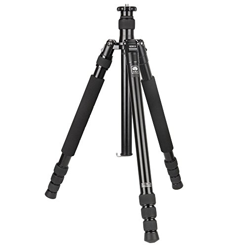 SIRUI N-1004X Universal Drei-/Einbeinstativ (Aluminium, Höhe: 160,7cm, Gewicht: 1,4kg, Belastbarkeit: 12kg) mit Tasche & Gurt