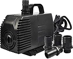 Simple Deluxe 1056 GPH Submersible Pump - Best Fish Pond Pumps
