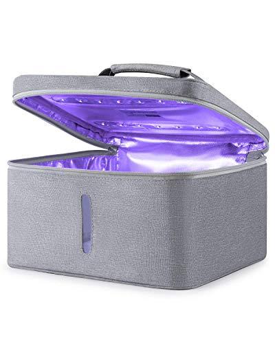 ESTERILIZADOR UV, UV Luz Lámpara, Lámpara de, Portátil Desinfectante, UV-C LED 265nm...