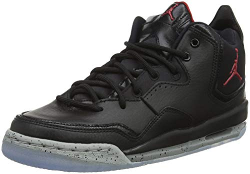 Nike Jordan Courtside 23 (GS), Scarpe da Basket Uomo, Nero (Black/Gym Red/Particle Grey 023), 38.5 EU