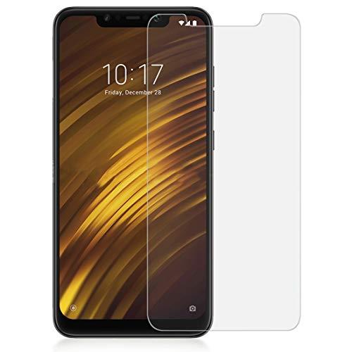 wortek Xiaomi Pocophone F1 Panzerglas Displayschutz Tempered Glass Echtglas Panzerfolie 2er Set
