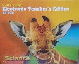 Electronic Teacher's Edition Grade 3 (California Science)