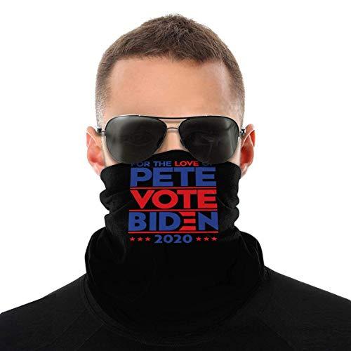 Nother para El Amor de Pete Vote Biden 2020 Bandana de las Mujeres de los Hombres para el Polvo de la Bufanda bufanda de pelo