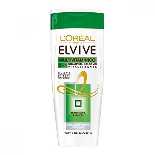 L'Oreal L Oreal Elvive Multivitaminico 2 In 1 Shampoo + Balsamo 400 Ml