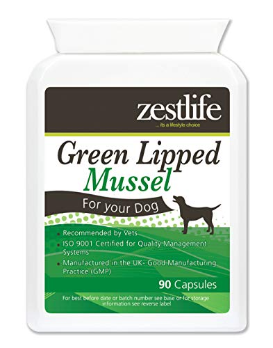 Zestlife el mejillón labiado verde para perros alta resistencia 90 cápsulas