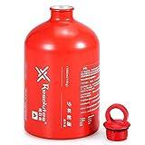 Sanmum Outdoor Aluminium Camping Gas Fuel Oil Empty Bottle for Picnic Barbecue 1000ml/1500ml/750ml/500ml