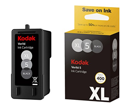 Kodak Verite 5 Replacement Inks (ALK1UA) XL Black Ink Jet Cartridge compatible to V50, V55, V55W Eco, V55 Plus, V60 Eco, V640 Eco, V64 Series, V65 Eco, V65 Plus