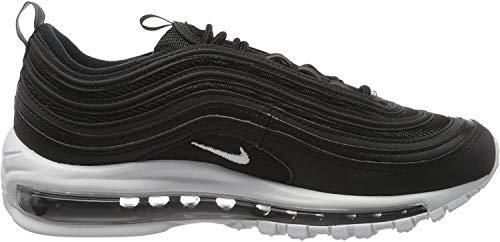 NIKE Herren Nike Air Max 97 Laufschuhe, Schwarz (Black/White 001), 42 EU