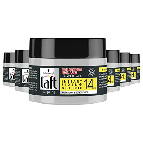 Schwarzkopf Taft Super Glue Level 14 Power Gel Pot 250ml, 6 stuks