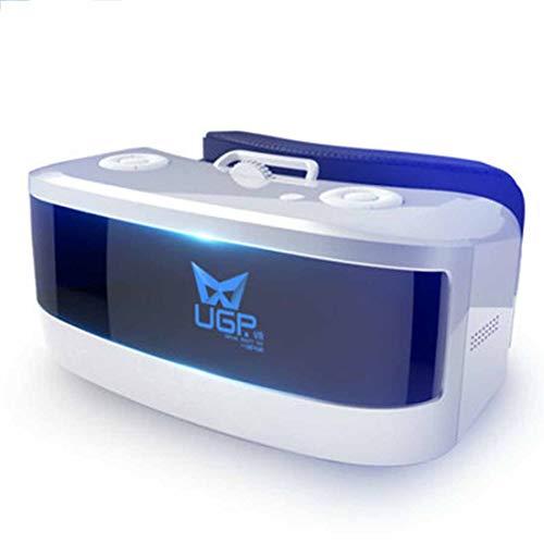 Rzj-njw VR Goggles Videobrille BAU in der Batterie 3D Virtual Reality WiFi HD AR Brille 4K-Bildschirm Head-Mounted AR Theater Spielkonsole Helm