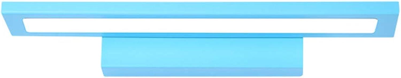 18W Spiegel Scheinwerfer, Moderne Led Badezimmer Wandleuchte Spiegel Licht Kaltwei Ip44Make-Up Spiegel Frontbeleuchtung Bad über Blau