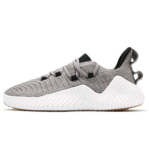 adidas Alphabounce Trainer, Zapatillas de Deporte Hombre, Gris (Gritre/Negbás/Ftwbla 0), 49 1/3 EU