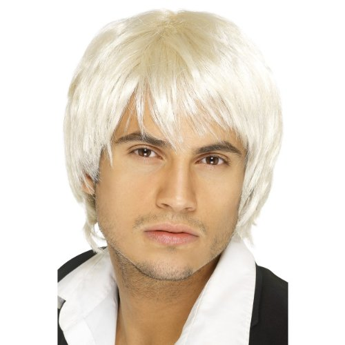 PARTYRama Costume Boy Band Perruque – Blond