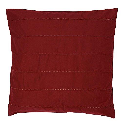 Vivaraise Taie d'oreiller Marilou Rouge 65 x 65 cm