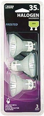 Feit Electric BPQ35MR16IFGU10 35 Watt 120 Volt Halogen Reflector Flood Light