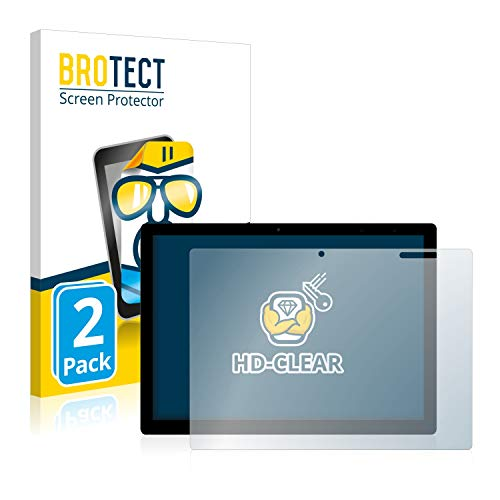 BROTECT Schutzfolie kompatibel mit Chuwi UBook X (2 Stück) klare Bildschirmschutz-Folie