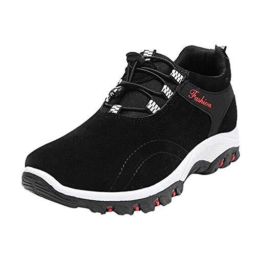 Julywe Stiefel Schuhe Turnschuhe Sneaker Herren SportschuheMode Männer Wanderschuhe Wasserdichte Wanderschuhe Flock Outdoor Sneakers
