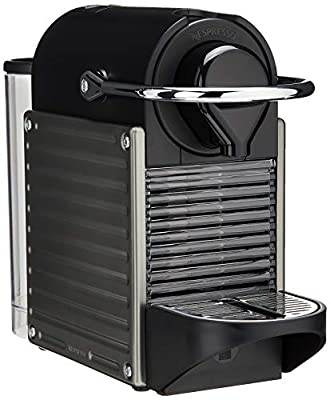Breville-Nespresso USA BEC450TTN1AUC1 Pixie Espresso Machine, Titan
