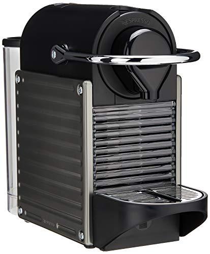 Breville-Nespresso USA BEC450TTN1AUC1 Pixie Espresso Machine, Titan -  608017-BEC450TTN1AUC1