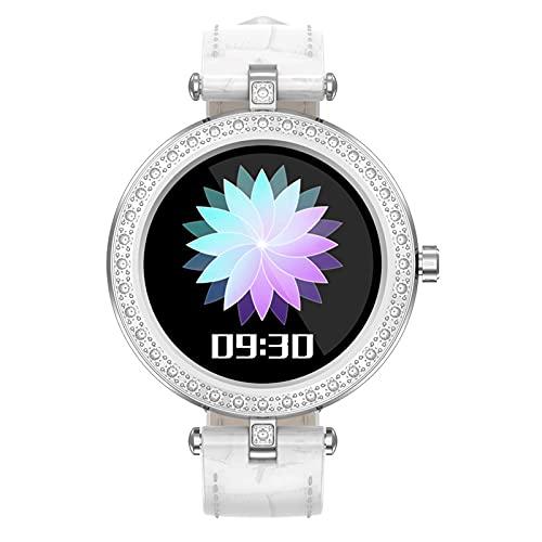 N \ A Smartwatches für Frauen, Smartwatch für Android- und iOS-Handys, 1,09-Zoll-Touchscreen, wasserdichter IP67-Schrittzähler, Uhr mit Schlafmonitor