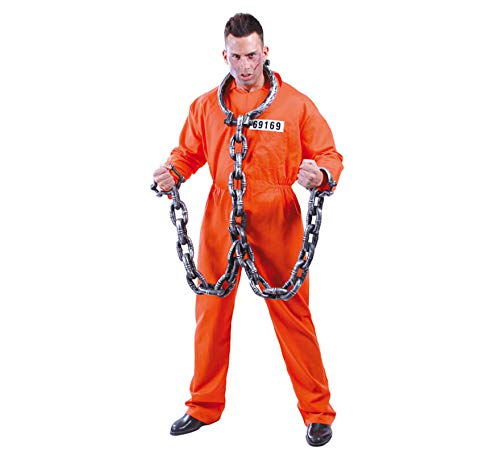 FIESTAS GUIRCA Traje de Recluso convicto Traje de prisin Naranja