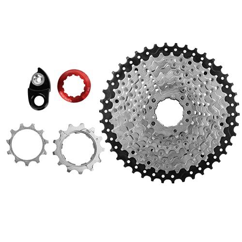 Liujaos -Rust Freewheel, Bike 10 Speed Freewheel, para Bicicleta Bike Lover Wear-