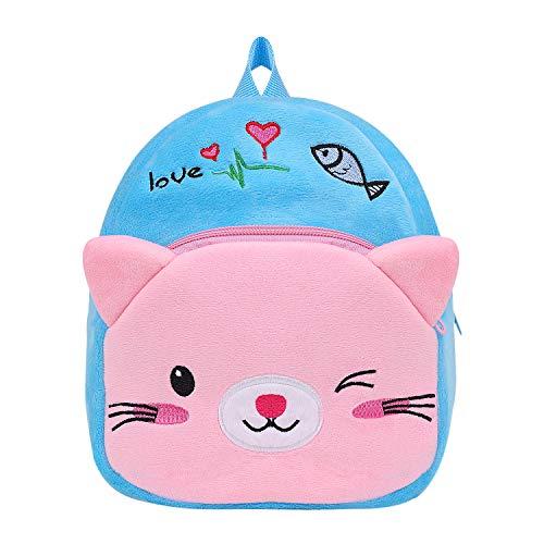 Sac A Dos Enfant Chat Bambin Sacoche Primaire Backpack d'Ecole Cartable Préscolaire Maternelle en...
