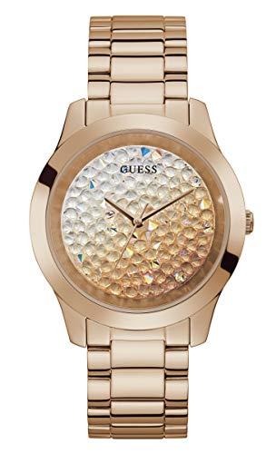 GUESS Reloj analógico para Mujeres de con Correa en Acero Inoxidable GW0020L3