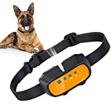Dog Bark Collar, Citronella Spray Anti Barking Device Rechargeable Waterproof Stop Bark Training Collars, No Electric Shock Anti-Bark Deterrent Stopper for All Dogs (NO Include Remote Control)