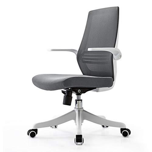 SIHOO Ergonomics Office Computer Desk Chair, Flip Up Armrest's Mesh Chair