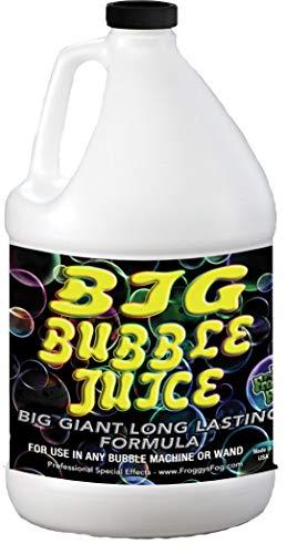 Froggys Fog - 1 Gallon - Big Bubble Juice - Enormous, Long-Lasting Bubble Fluid
