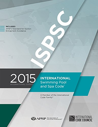 2015 International Swimming Pool and Spa Code