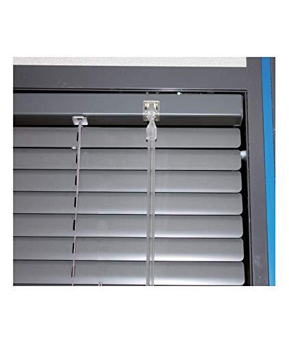 MADECO - Barra de orientación transparente para persianas venecianas - V7 transparente