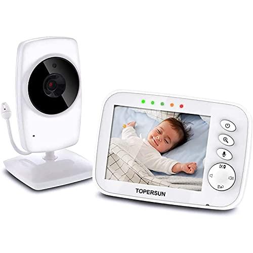 Baby Monitor Camera 3.2'LCD Digital Audio para ...