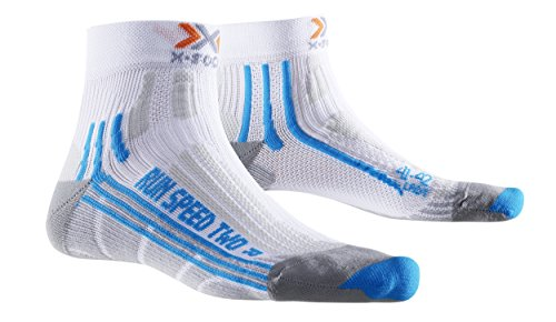 X-Socks Damen Socken RUN SPEED TWO LADY, White/Turquoise, 37/38, X020436