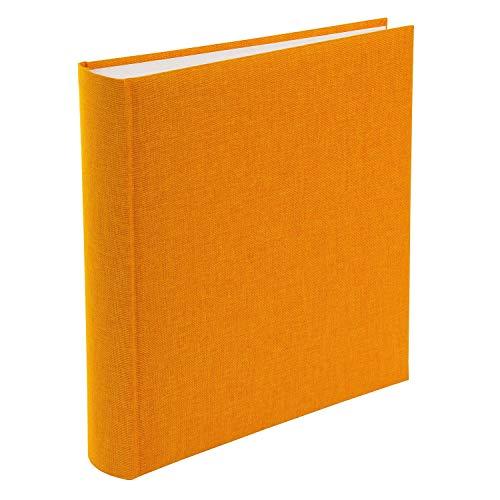 Goldbuch Fotoalbum, Summertime, 30 x 31 cm, 100 weiße Seiten mit Pergamin-Trennblättern, Leinen, Gelb, 31705