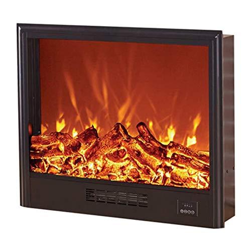 DGYAXIN Chimenea eléctrica empotrada en la Pared, Estufa calefactora empotrada con Efecto de Llama 3D, protección contra sobrecalentamiento, Salida de Aire Inferior, para Sala de Estar