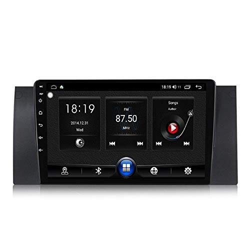ADMLZQQ 2 DIN Android Radio del Coche Navegación GPS para BMW E39 HD Pantalla Táctil WiFi Internet Multimedia DSP RDS Bluetooth Manos Libres Cámara de Marcha atrás(Gift),7731,1+16G