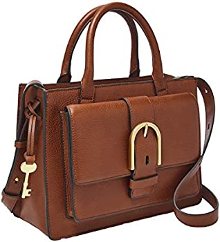Fossil Women's Wiley Leather Satchel Handbag