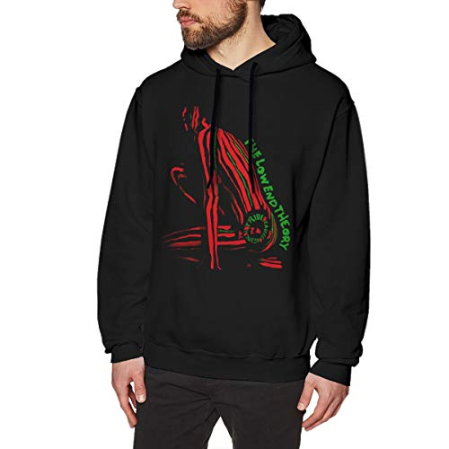 JamesMMika A Tribe Called Quest The Low End Theory Unisex Women Fashion Galaxy Casual Pullover Hoodies Hooded Sweatshirts XL Black